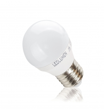 G45-AP E27 8W 230V 12x2835 LED CCD WW