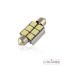 Żarówka LED FESTOON LIGHT 36mm 6SMD 5050 LEDLUMEN