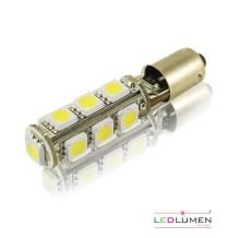Żarówka LED BA9S 13SMD 5050 Canbus-resistor LEDLUMEN