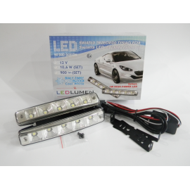 Żarówka LED DRL13 2X5pcs HIGH POWER LED