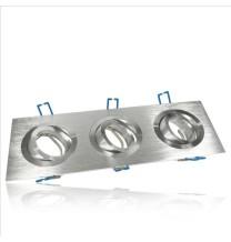 Oprawa sufitowa GU10 aluminium potrójna DLA-07/3 AL