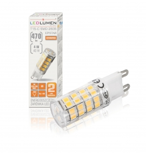 Żarówka LED T15-C G9 4W 230V 51x2835 LED biała neutralna