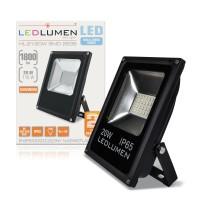Naświetlacz LED HL-21/20W 24x2835 LED IP65 biała zimna