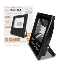 Naświetlacz LED HL-22/30W 36x2835 LED IP65 biała neutralna