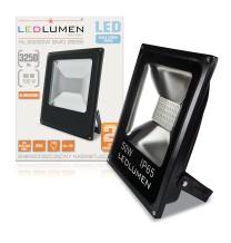 Naświetlacz LED HL-23/50W 50x2835 LED IP65 biała zimna