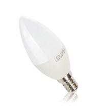 C37-AP E14 6W 230V 8x2835 LED CCD WW