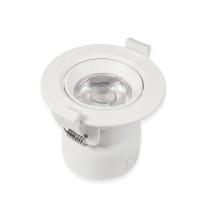 Oprawa wpuszczana LED DL-19R 9W 9x2835 WW