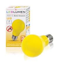 Żarówka LED A60-G E27 4W 230V LED Anti-Insect