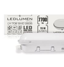 Oprawa hermetyczna LH-70B 70W 7700lm LED 1500mm IP65 CCD NW