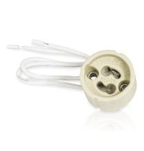 GU10- oprawa ceramiczna z przewodem LEDLUMEN