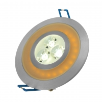 Oprawa LED-103A/5W CW+ORANGE LEDLUMEN