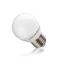 Żarówka LED G45-AP E27 3.5W 230V 7x2835 LED CW