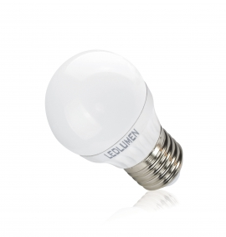 G45-AP E27 5W 230V 8x2835 LED CCD CW