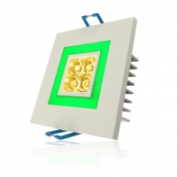 Oprawa LED-103C/4W+2W WW+GREEN LEDLUMEN