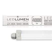 Oprawa hermetyczna LH-40A 40W 4000lm LED 1210mm IP65 CCD NW