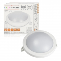 BH-02 12W 806lm LED IP65 NW