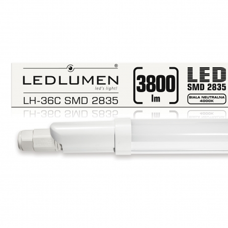 LH-36C 36W 3800lm LED 1230mm IP65 CCD NW