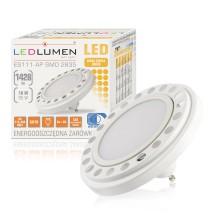 Żarówka LED ES111-AP GU10 230V 18W 2835 CCD biała ciepła