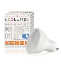 Żarówka LED PAR16-AP GU10 230V 7W LED 105 st. DIM biała neutralna