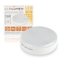 Żarówka LED GX53-AP 12W 230V 16x2835 LED CCD biała ciepła