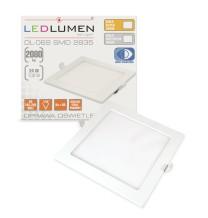 Oprawa podtynkowa LED DL-06S 24W 120x2835 WW