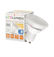 Żarówka LED PAR16-AP GU10 8W 2835 LED biała ciepła