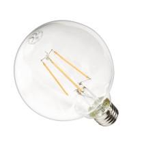 Żarówka LED G95-G E27 230V 10W FILAMENT CCD 1242lm DIM WW