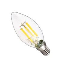 Żarówka LED C35-G E14 230V 6W FILAMENT 806lm WW