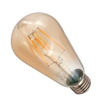 Żarówka LED ST64-G E27 230V 9W FILAMENT 972lm WW