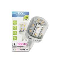 Żarówka LED T27 G9 230V 2.6W 16x2835 LED biała ciepła